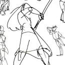 Gesture Drawings - Fall 2011