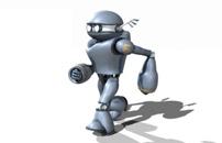 3D Robot Walk Cycle